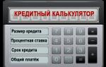 Кредитный калькулятор МКБ — рассчитать кредит онлайн